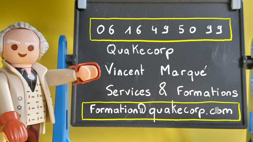 Contact Vincent Marqué Services et Formations