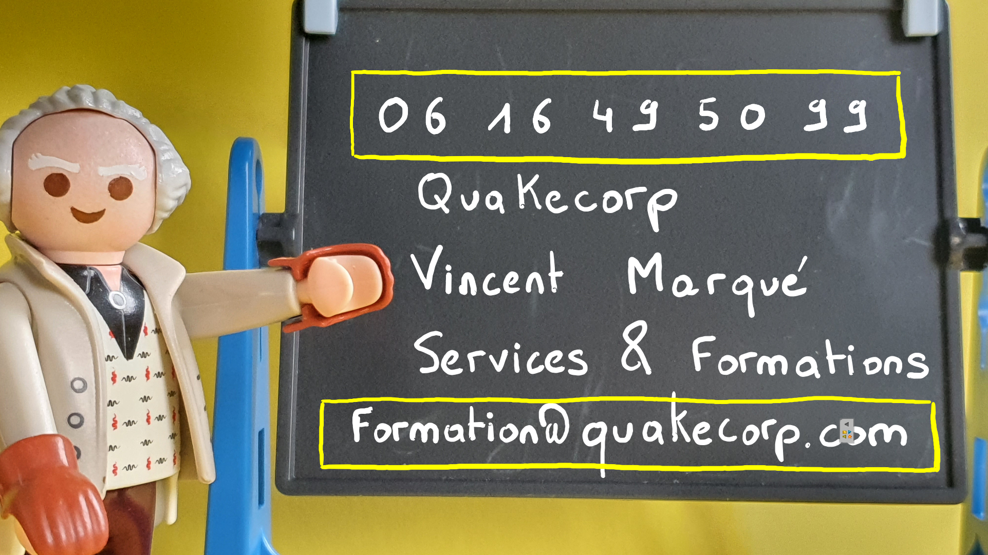 Contact Vincent Marqué Services et Formations